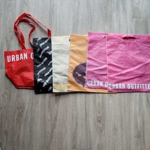 Set of 6 Urban Outfitters bags